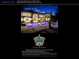 Marquise Pools - Website Design by WizardsWebs Design