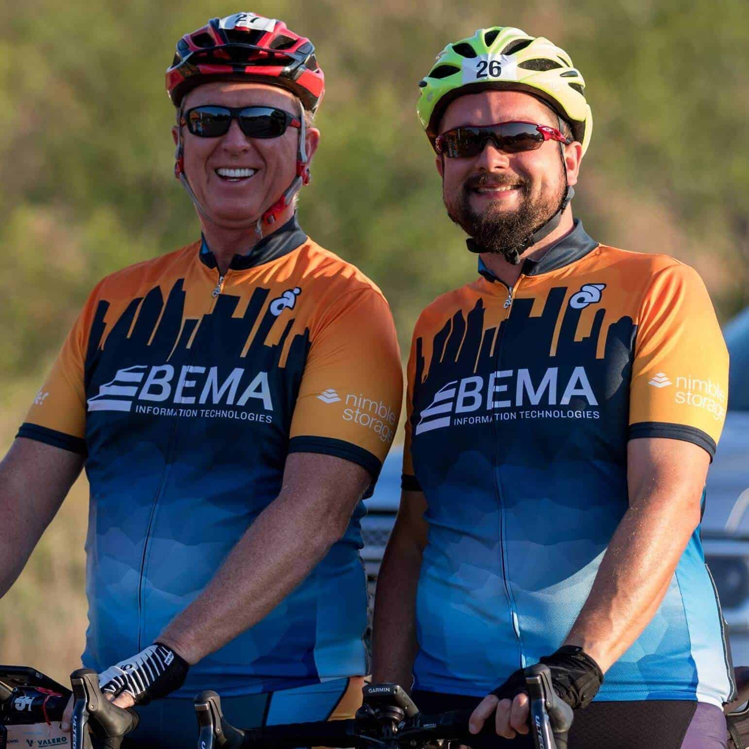 Web Design Company Houston - WizardsWebs Design LLC Houston, TX - Steve Green and son Christopher Green are proud to both be 2017 Club 300 Top Fundraisers for the BP MS150 Bike Ride supporting National Multiple Sclerosis Society