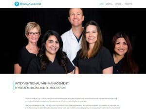 Thomas Synek MD - Small Business Website Design by WizardsWebs Design LLC