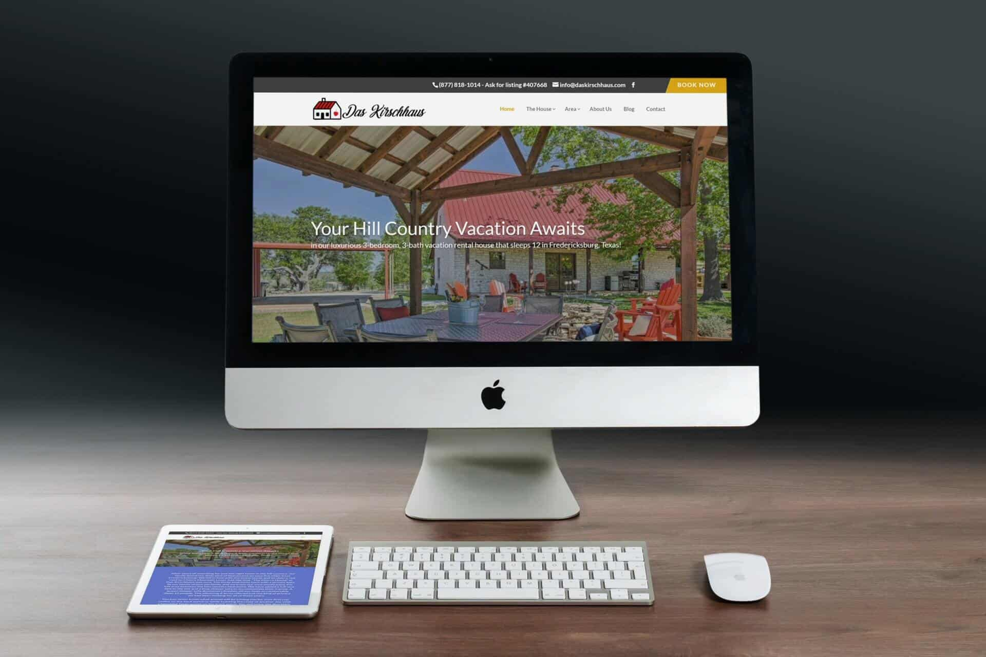 Das Kirschaus Website Design