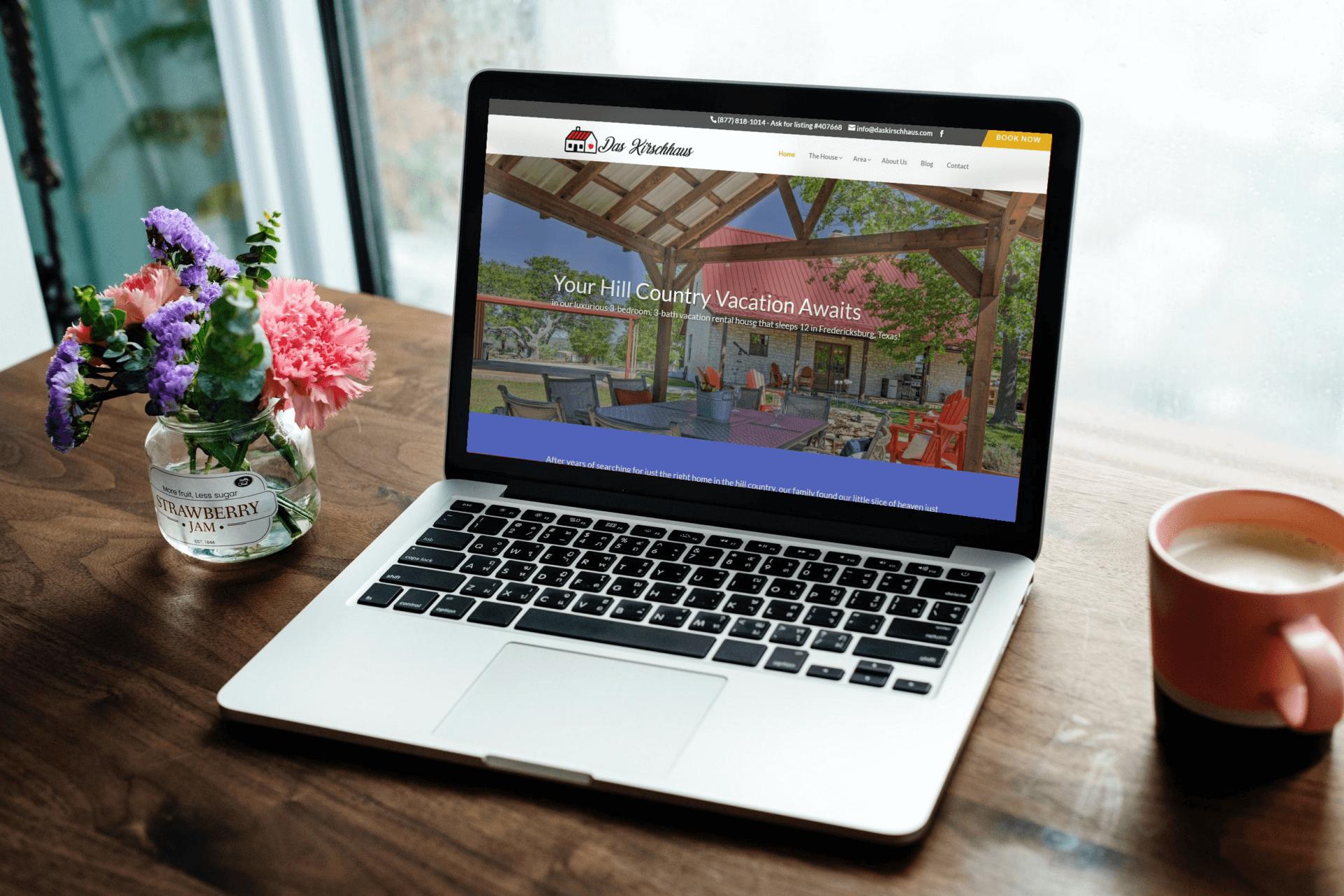 Das Kirschaus Website Design