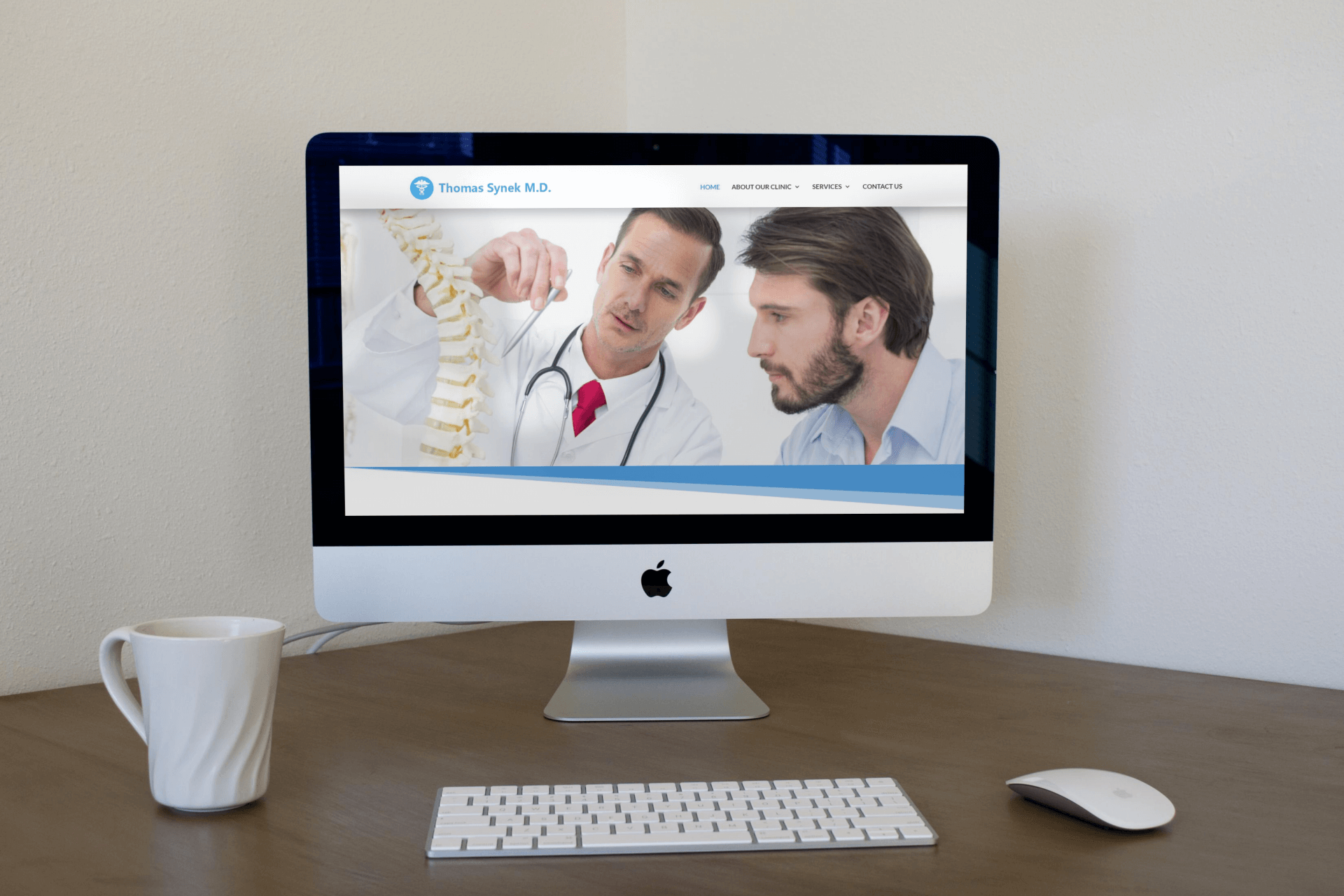 Interventional Pain Management Website Design