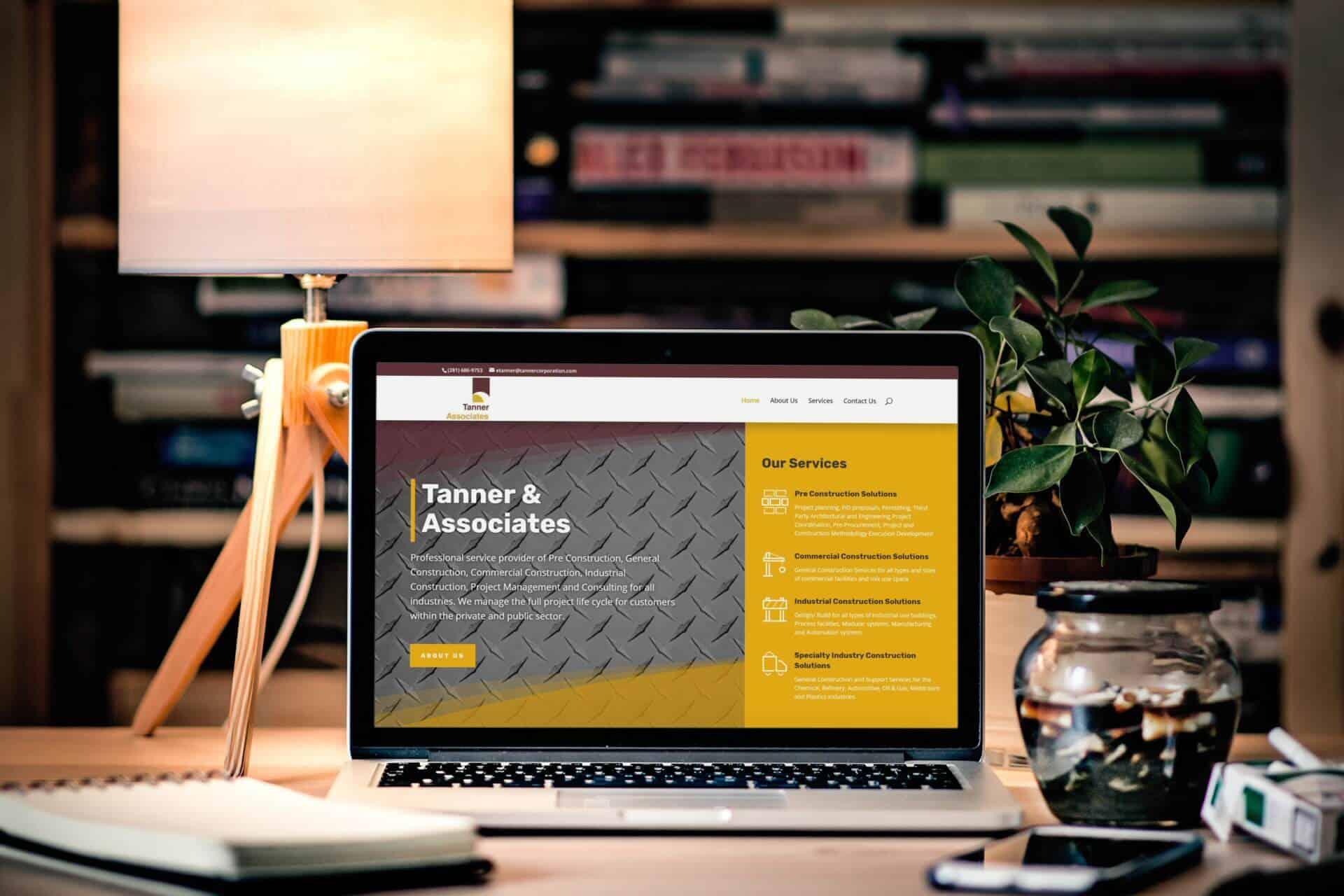 Tanner & Associates Website Design