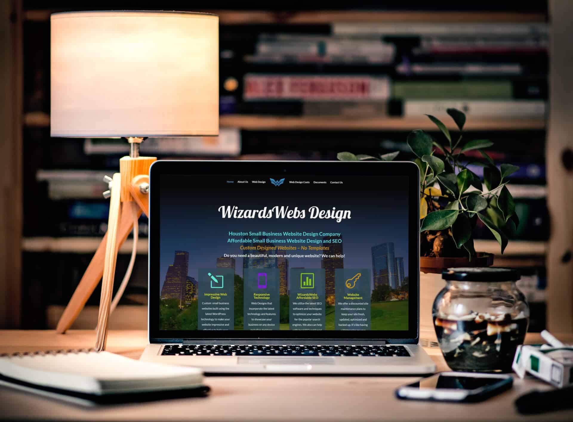 Best Website Design Services in Houston, TX - WizardsWebs Design LLC
