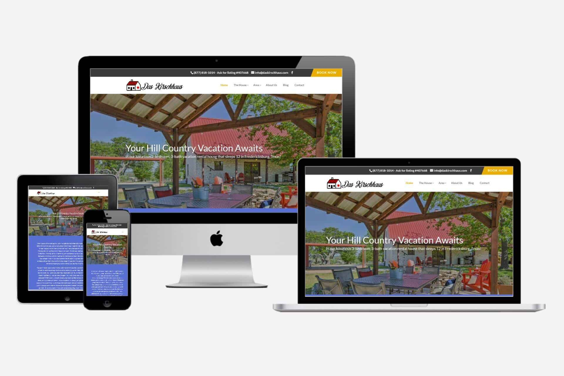 Das Kirschaus Website Design by WizardsWebs Design LLC