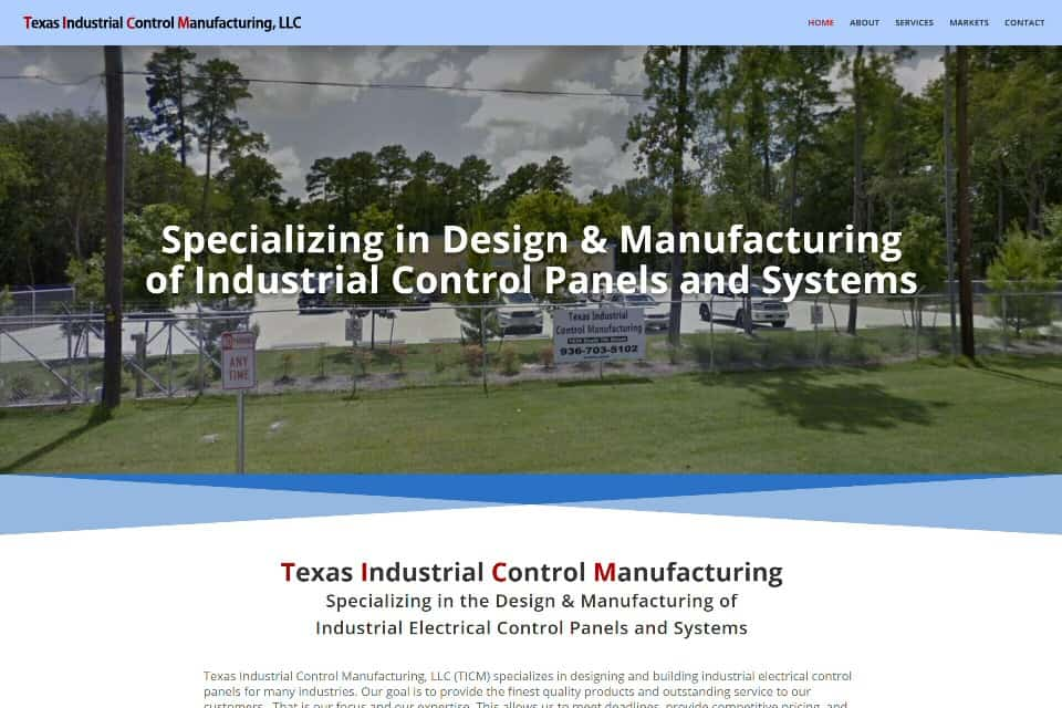 Texas Industrial Control Manufacturing