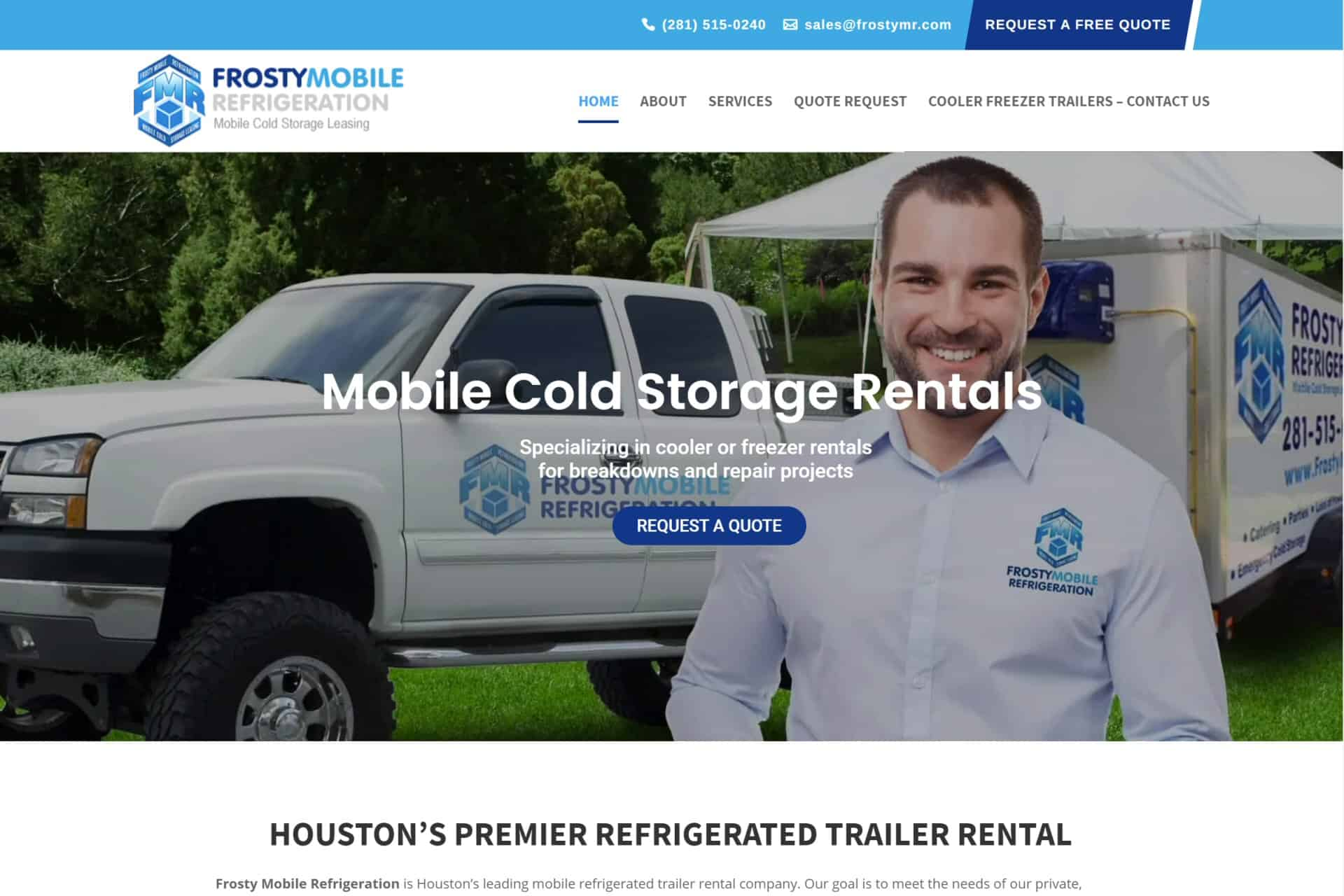 Frosty Mobile Refrigeration