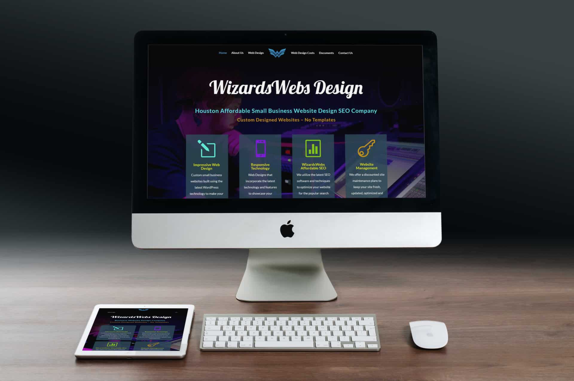 Affordable #1 Business Website Design Company WizardsWebs Business Website Design Company - Web Design