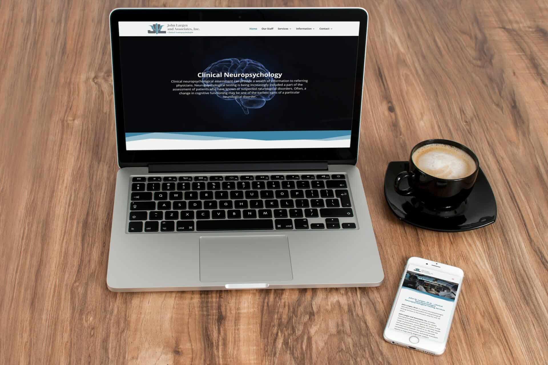John W. Largen & Associates Website Design
