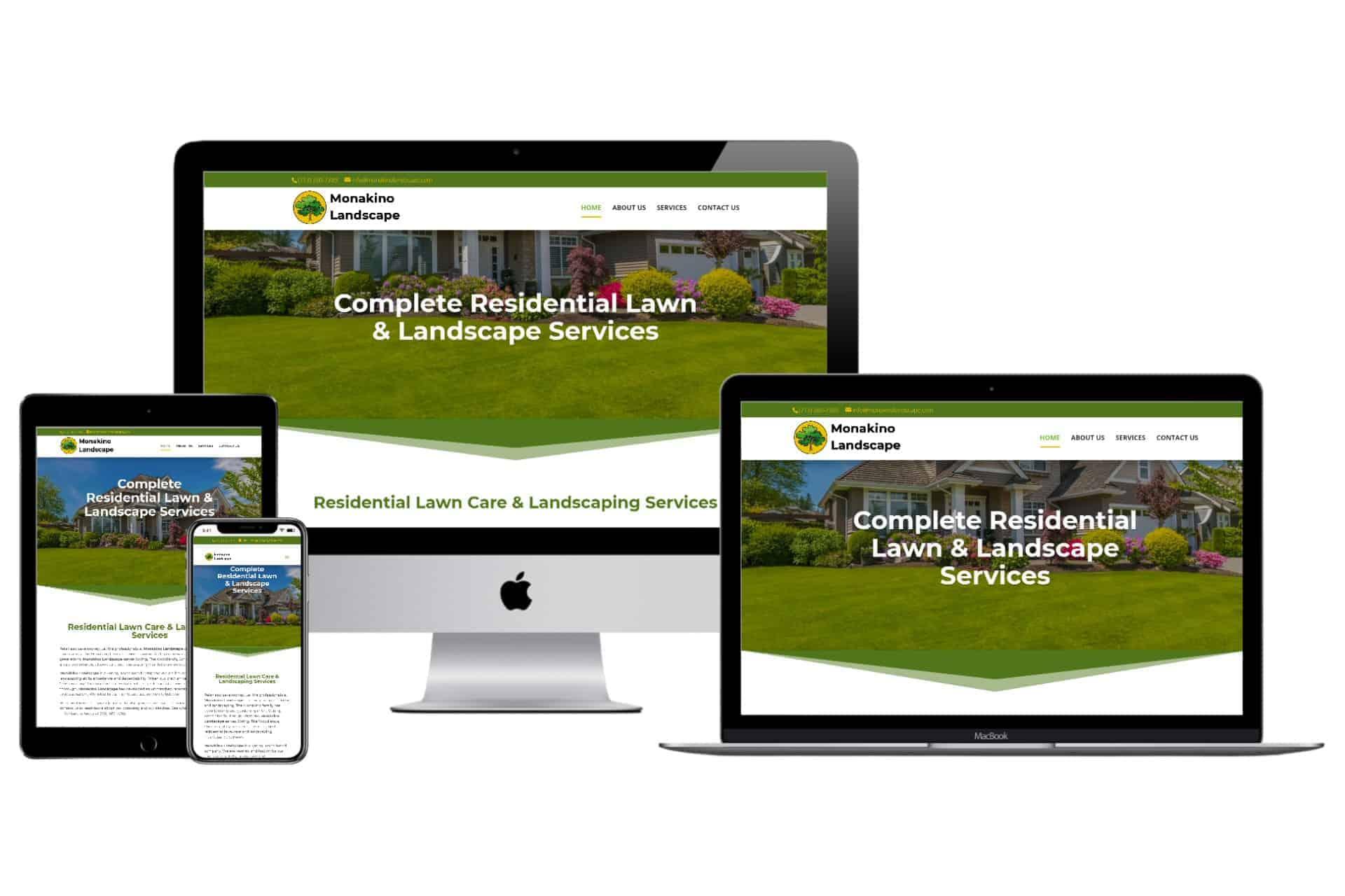 Monakino Landscape New 2020 Responsive Website Design