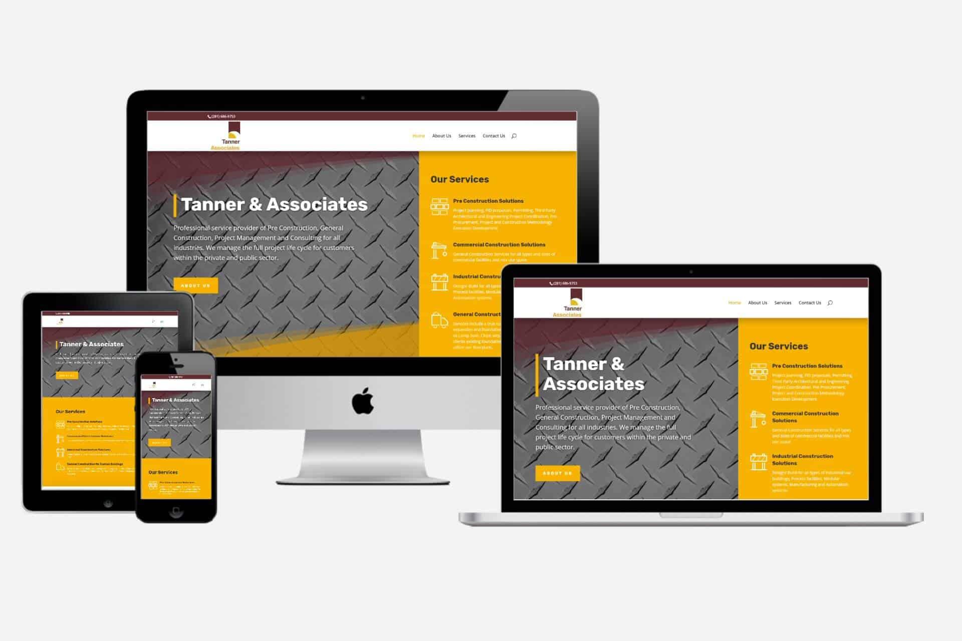 Tanner & Associates Website Design by WizardsWebs Design LLC